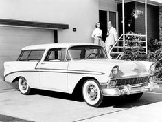 The Great Charm of Vintage Cars - Popular Vintage My Dream Car, Dream Cars, Chevy Nomad, Buick Cars, Gm Car, Car Brochure, Chevrolet Bel Air, Sweet Cars, Train Car