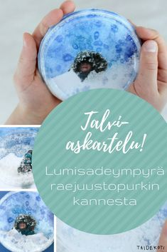 Talviaskartelu Art Education, Christmas Crafts, Drawings, Winter, Diy, Inspiration, Painting, Crafting, Winter Time