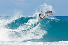 (my country <3) Surfing in Cabarete, Dominican Republic