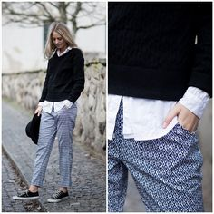 Only Pants, Park Lane Knitwear, Converse Shoes - FEBUARY 27 - Kajsa Svensson