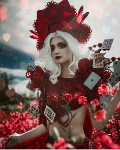 Queen of hearts...