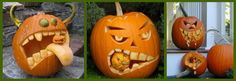 awesome pumpkin carving ideas.