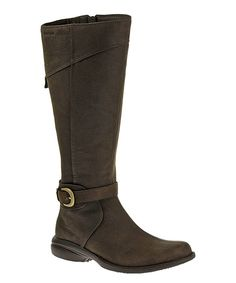 Take a look at this Merrell Espresso Captiva Buckle-Up Leather Boot today!