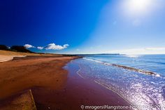 Dawlish Warren Beach just a few metres from the Langstone Cliff Hotel by mark@langstone, via Flickr