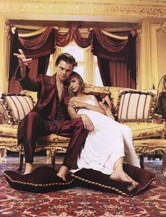 Leonardo DiCaprio and Claire Danes for Romeo + Juliet, 1996 Claire Danes, Damien Sargue, Leonardo Dicaprio Romeo, Romeo Und Julia, Leonardo Dicapro, Movies And Series, Cinema, Hollywood, Dylan O'brien