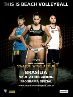 Beach Volleyball FIVB poster