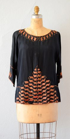 1920s Cubism On Display Tunic | Adored Vintage