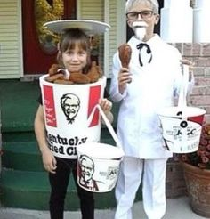 KFC The Perfect Halloween Costume ---- funny pictures hilarious jokes meme humor walmart fails