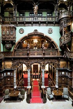 - the Main Hall. Castle Layout, Fairy House Crafts, Peles Castle, Scary Houses, Tudor Style Homes, Space Place, Find Picture, House Layouts, Old Houses