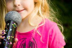 DIY Microphone Craft/ Moonfrye/ Kids Craft/ Repurposed Craft