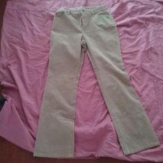ST. JOHN'S BAY WOMEN'S CORDUROY PANT, BOOT CUT, SIZE 10, CAMEL CORD  #STJOHNSBAY #Corduroys