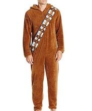 2017 Unisex Adult Star Wars 7 Series Cosplay I Am Chewie Chewbacca Furry Suit Costume Pajamas Jumpsuit Hoodies Cosplay Costume(China (Mainland))