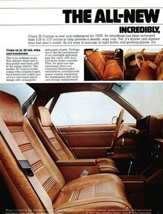 Old car and truck advertisements brochures, Chevrolet El Camino