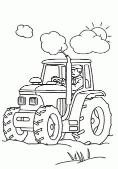 tractor coloring pages free.html