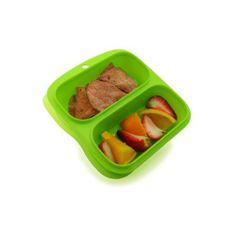 Goodbyn Small Meal Box, Green by Goodbyn. $9.72. No bpas or phthalates, lead-safe, fda-approved materials. made of #5 pp (polypropylene).. Recycleable. Goodbyn products are built to last. But when you?re done, they are completely recycleable.. Multi-compartments make life easier. lift off the lid and voila: food. no more messing with baggies or multiple containers.. Dishwasher-safe. top-shelf recommended.. Two 1-1/4 -cup compartments for perfect portions. good...