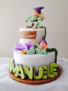 Dopey Christening cake - Cake by donatellacakes72