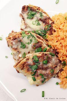 Mi Diario de Cocina   Enfrijoladas, please vote for this delicious recipe #Ad   http://www.midiariodecocina.com/en