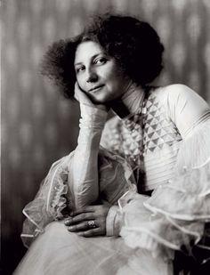 Emilie Flöge, Gustav Klimt's model, muse, and companion for years.