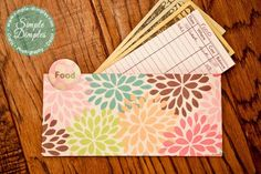 Cash Envelope system. I am in love with this lady's system. She is organised, but not making it look hard.