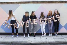 The UK's coolest wedding suppliers - Meringue Girls 👭 Meringue Girls, Brand Story, Girl Power, Welcome, Crushes, Rainbow, World, Wedding, Color