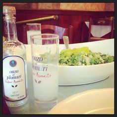 Astoria, NY has the largest Greek Population in America, and Telly's Taverna is the best Greek meal we've had since my wife and I were in Santorini.  Sip Ouzo and eat lightly grilled meats and fresh, warm pita till you say Opa!