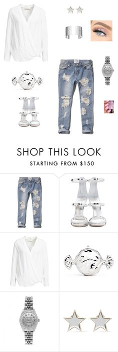 """""""Weekender"""" by dafina-blueeyes-nugent on Polyvore featuring Abercrombie & Fitch, Giuseppe Zanotti, By Malene Birger, Judith Leiber, Rolex, Givenchy and Dinh Van"""