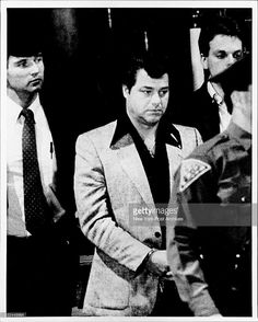 Son of Genovese legend Jimmy Napoli, Rocco Napoli in 1988. This is the year before he was acquitted in the plot to kill John and Gene Gotti.