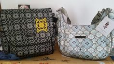 Just got 2 new PPB diaper bag!!! Absolutely love them, boxy backpack has tons of room since I carry lots of stuff.