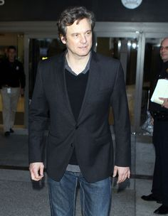 Colin Firth Photos - Actor Colin Firth arriving on a flight at LAX airport in Los Angeles, CA. - Colin Firth Arriving On A Flight At LAX Colin Firth, Kingsman, Suit Jacket, Actors, Photos, Baby, Men, Pictures, Kingsman The Secret Service