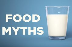 Food Myths - to be honest Id never even heard of half of them! http://www.buzzfeed.com/kellyoakes/food-myths-you-probably-believe