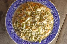 Old-Fashioned Pea Salad Recipe Perfect for Pitch-Ins Cold Pea Salad, Green Pea Salad, Pea Salad Recipes, Pea Recipes, Cooking Recipes, Amish Recipes, Dinner Recipes, Tangy Coleslaw Recipe, Homemade Coleslaw