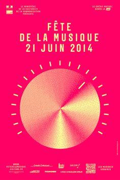affiche 2014 Laffiche de la Fête de la Musique 2014 --- Our French teacher just told us about this! Coooool