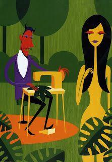 Ethan Mongin Illustration | Design : Artistic Inspiration - Shag i love this guy's work