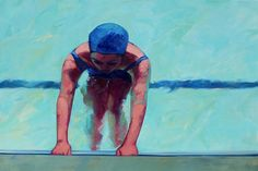 """Pushing Off"", 48 x 72, Oil on Canvas, TS Harris, Eisenhauer Gallery"