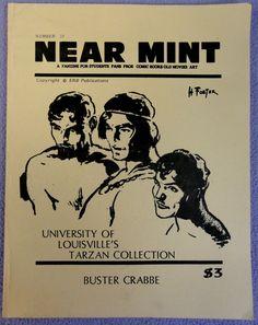 NEAR MINT #33 Pop Culture Nostalgia Fanzine Edgar Rice Burroughs TARZAN Buster Crabbe Frazetta Johnny Weismuller Flash Gordon