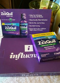 Received sample of #ZzzQuil SleepAid to #review from #Vicks + @Influenster! #ZzzQuilVoxBox #SleepLovers #SleepSoundly