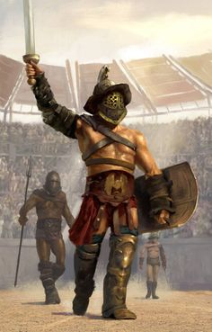 m Gladiator Arena urban City lg Gladiator Arena, Gladiator Tattoo, Gladiator Fights, Guerrero Tattoo, Roman Gladiators, Ancient Rome Gladiators, Roman Warriors, Empire Romain, Armadura Medieval