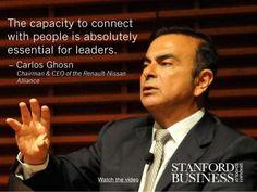 Carlos ghosn leadership style