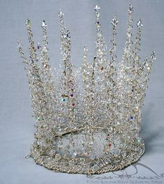 White Witch Crystal Crown by upfromtheashes on Flickr   (via Pin by Countess Sykora on For M., My Accomplice | Pinterest)