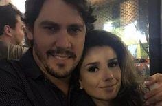 Paula Fernandes festeja aniversário com namorado