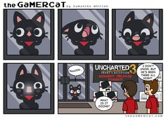 Are you open? #thegamercat #geek