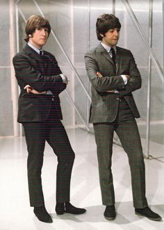 John Lennon & Paul McCartney, 1965.