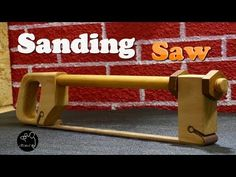 Sanding Saw, How to make - YouTube