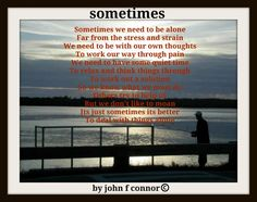 healing poem by john f connor
