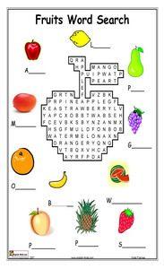 ESL, fruits, apple, orange English vocabulary, printable worksheets