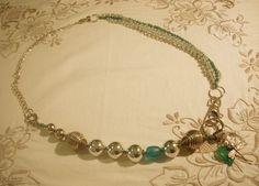 Collana,  componibile libellula di fili e perline su DaWanda.com
