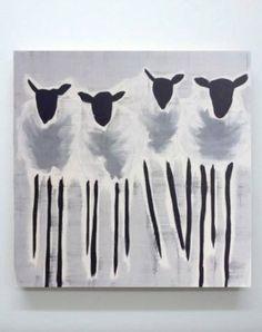 """Saatchi Art Artist Julie Sneed; Painting, """"Corriedale"""" #art"""