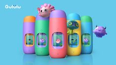 Gululu | the interactive bottle that keeps kids hydrated project on Kickstarter.  The Gululu Interactive Bottle gives life to virtual pets to help kids drink water, and informs parents through a cloud-based app.