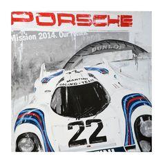 The Return of the Retro Art of Tom Havlasek - Motorsport Retro