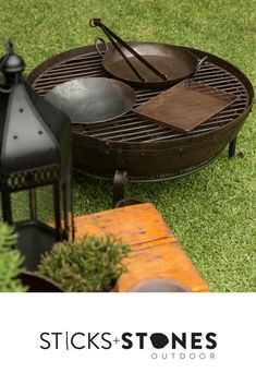 Our Kadai accessories are perfect to complete your fire pit and BBQ cooking utensils for an impressive outdoor feast. At Sticks + Stones Outdoor, we travel the globe to source the most stunning, affordable, practical and stylish items to help you create your own beautiful outdoor space. #outdooraccessories #firepits #BBQ #outdoorcooking